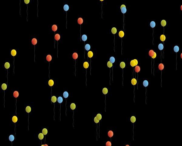 Letící balónky