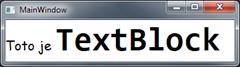 WPF TextBlock - inlines