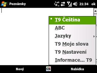 Aktivovaná T9