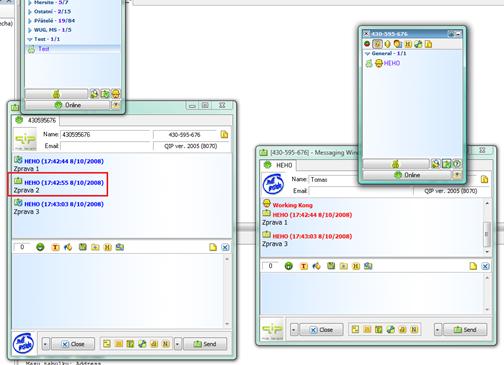 ICQ offline msg