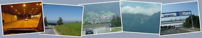 Zobrazit album Saint Tropez 2009 - Přejezd přes Rakousko