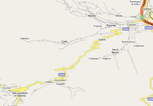Mapa klikatice na