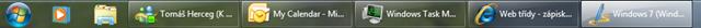 Nový taskbar